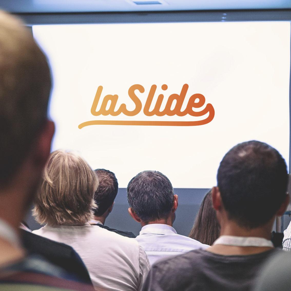 Conférences, visuels, logo, La Slide